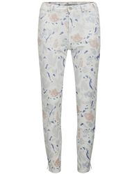 Paul by Paul Smith - Women's Printed High Waist Skinny Jeans - Lyst