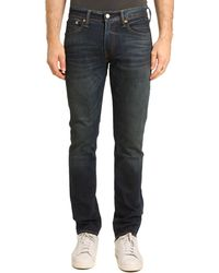 Levi's Slim-Fit Washed Blue 511 Jeans - Lyst
