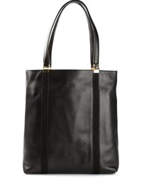 Tod's Black Large Tote - Lyst