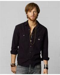 4c61cf3f32 Denim   Supply Ralph Lauren - Poplin Western Shirt - Lyst