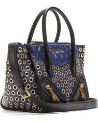 Miu Miu Embellished Leather Tote - Lyst