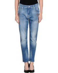 Ra-re Blue Denim Pants - Lyst