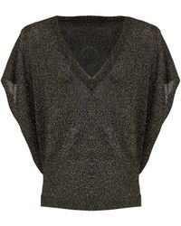 Alice + Olivia Celie Sparkly Pullover - Lyst