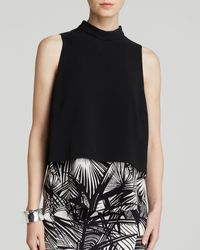 Elizabeth And James Top - Tashi Silk - Lyst