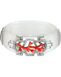 Alexis Bittar Enamel Studded Bedarra Hinge Bracelet - Lyst