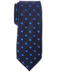 Duchamp - Dotted Tie - Lyst