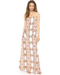 Flynn Skye Apron Maxi Dress Bali Offering - Lyst