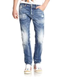 DSquared² Cool Guy Distressed Jeans - Lyst