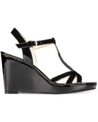 Adrienne Vittadini Clovis Wedge Sandals - Lyst