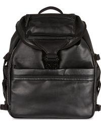 Alexander McQueen Tech Leather Backpack - Lyst