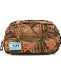 TOMS - Brown Geo Mix Peninsula Cosmetic - Lyst