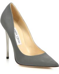 Jimmy Choo | Anouk Fabric Point-toe Pumps | Lyst