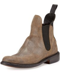 Rag & Bone Dartford Suede Chelsea Boot - Lyst