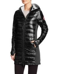 Canada Goose' Hybridge Lite Hooded Down Jacket - Black