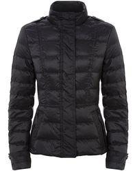 Burberry Brit Down Puffer Jacket - Lyst