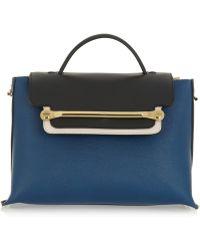 Chloé Clare Medium Textured-leather Shoulder Bag - Lyst