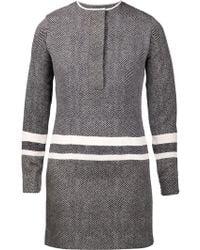 Edun Stripe Shirt Dress - Lyst