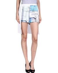Clover Canyon Shorts white - Lyst