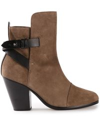 Rag & Bone Brown Kinsey Boot - Lyst
