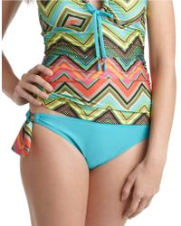 Ella Moss Caravan Tunnel Hipster Swim Bottoms - Lyst