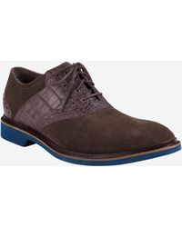 Cole Haan Franklin Saddle Oxford brown - Lyst