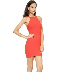 Elizabeth And James Damon Dress  Brick Red - Lyst
