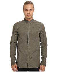 Pierre Balmain Single Pocket Shirt - Lyst