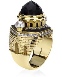 Theo Fennell - Eastern Castle Ring - Lyst