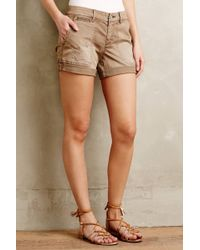 Pilcro - Hyphen Distressed Chino Shorts - Lyst