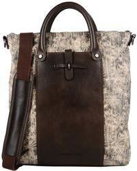 Diesel Black Gold Handbag - Lyst
