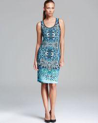 Grayse - Abstract Animal Print Tank Dress - Lyst