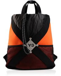 Y-3 Harness Color Block Backpack - Lyst