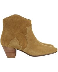 Isabel Marant Dicker Suede Boot - Lyst