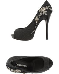 DSquared2 Courts with Open Toe - Lyst