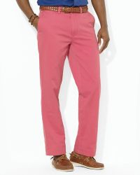 Ralph Lauren - Polo Flat Front Chino Pant Classic Fit - Lyst