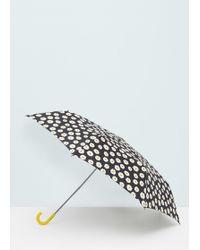Mango - Flower Print Umbrella - Lyst