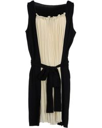Vionnet Long Dress black - Lyst