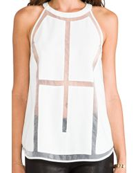 Cameo - Megalomania Top in White - Lyst