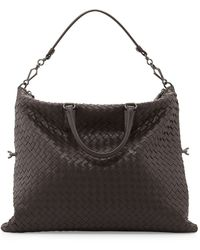 Bottega Veneta Convertible Woven Tote Bag - Lyst