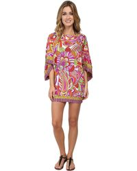 Trina Turk Amazonia Covers Tunic Cover-up - Lyst