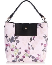 Oasis Holly Shadow Floral Hobo Bag - Lyst