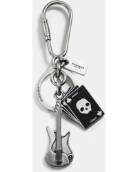 COACH | Guitar And Cards Key Ring | Lyst