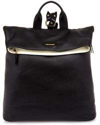 McQ by Alexander McQueen Grained-leather Backpack - Lyst