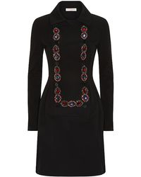 Matthew Williamson Embroidered Double-breasted Dress - Lyst