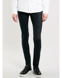 LAC - Bk Coated Spray On Jeans - Lyst
