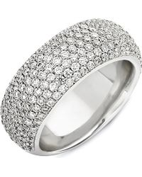 Theo Fennell - 18ct White Diamond Spangle Ring - Lyst