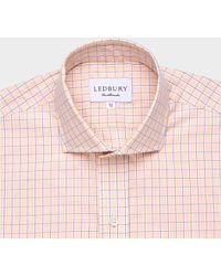 Ledbury The Orange Davidson Check 120 - Lyst