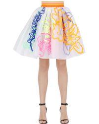 Fyodor Golan - Gathered Floral Skirt - Lyst