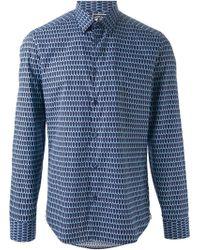 Kenzo Blue 'Eiffel' Shirt - Lyst