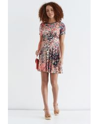Oasis Clustered Ditsy Print Dress - Lyst